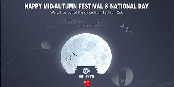 Happy Mid-Autumn Festival & National Day Holiday!