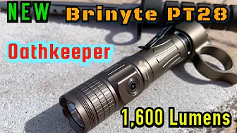New Brinyte PT28 Oathkeeper Unboxing & Review with Beamshots