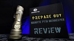 Brinyte PT18 Oathkeeper flashlight review